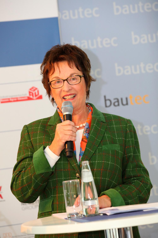 """Brigitte Zypries bei der Preisverleihung """"Auf IT gebaut"""""""