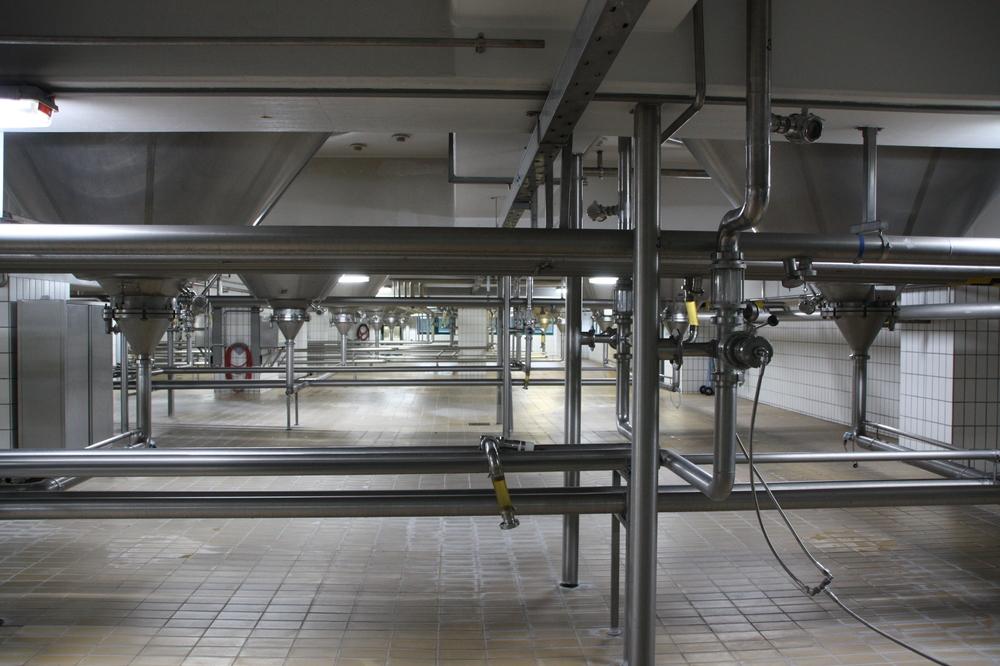 Licher Brauerei - Rohre